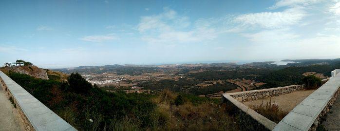 Panorámica Monte Toro